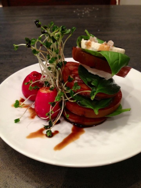 Caprese Salad with 25yr aged Balsamic