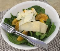 Spinach Yellow Tomato Salad