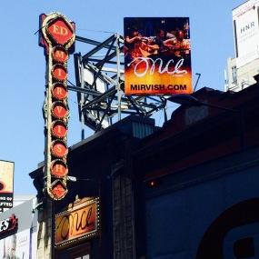 Toronto even has theatre!!