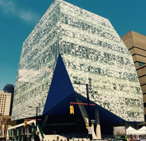 Of course Ryerson has to have a cool building too right?  I love it, but I wonder how well it will age.....
